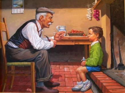 bunicul si copilul