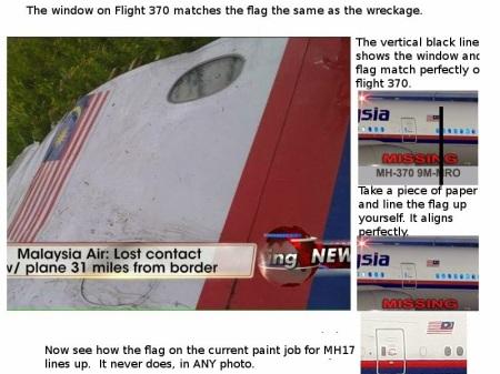 mh370 - flag - mh17