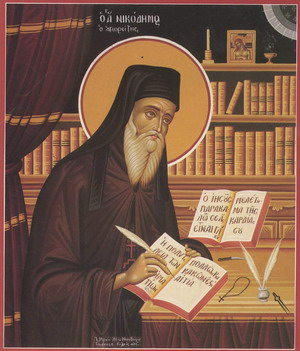 Risultati immagini per Sf.Nicodim Aghioritul