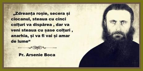 Cuvant Profetic Sfantul Arsenie Boca