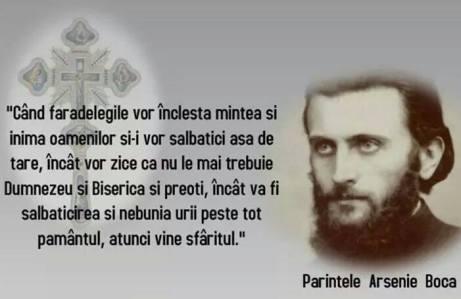 Cuvinte Profetice Parintele Arsenie Boca1