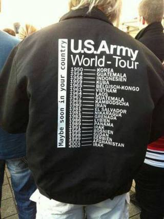 US ARMY WORLD TOUR