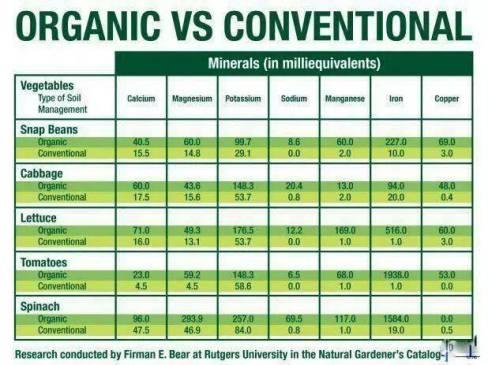 organicconventional