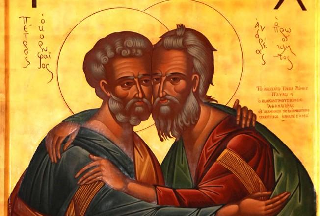 Sfinții Apostoli Petru și Pavel. Obiceiuri și tradiții ...  |Sf. Petru Si Pavel